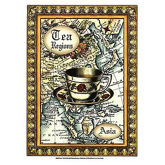 Exotic Tea (D) II Poster Print by Deborah Bookman (9 x 12)