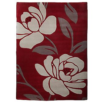 Luxurious Floral Patterned Large Floor Rug