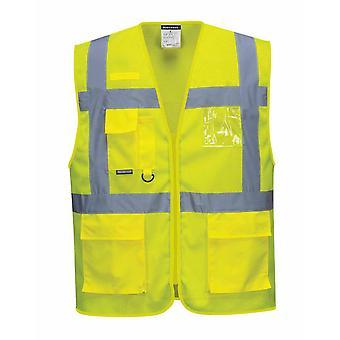 sUw - Athens MeshAir HI-i-Vis Safety Workwear Executive Vest