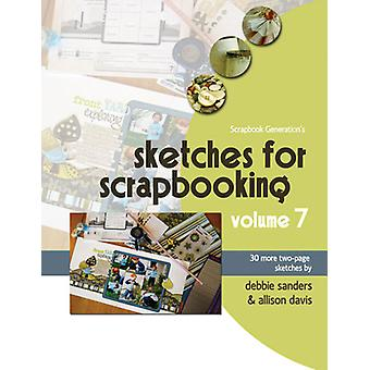 Scrapbook Generation Sketches For Scrapbooking Volume 7 Sg Sv7