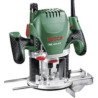 Router incl. case 1400 W Bosch Home and Garden POF 1400 ACE