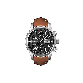 Fortis watch Aero master steel automatic chronograph 656.10.10 L 08