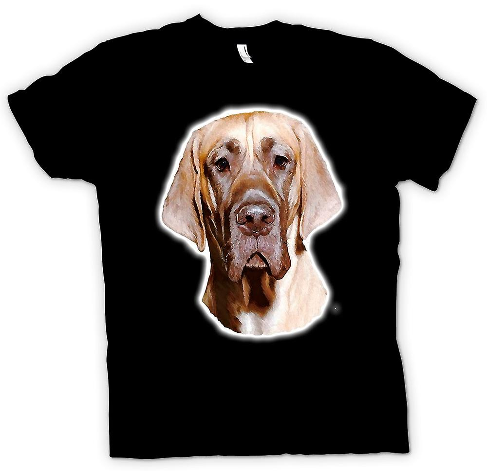 Heren T-shirt - Great Dane - huisdier hond