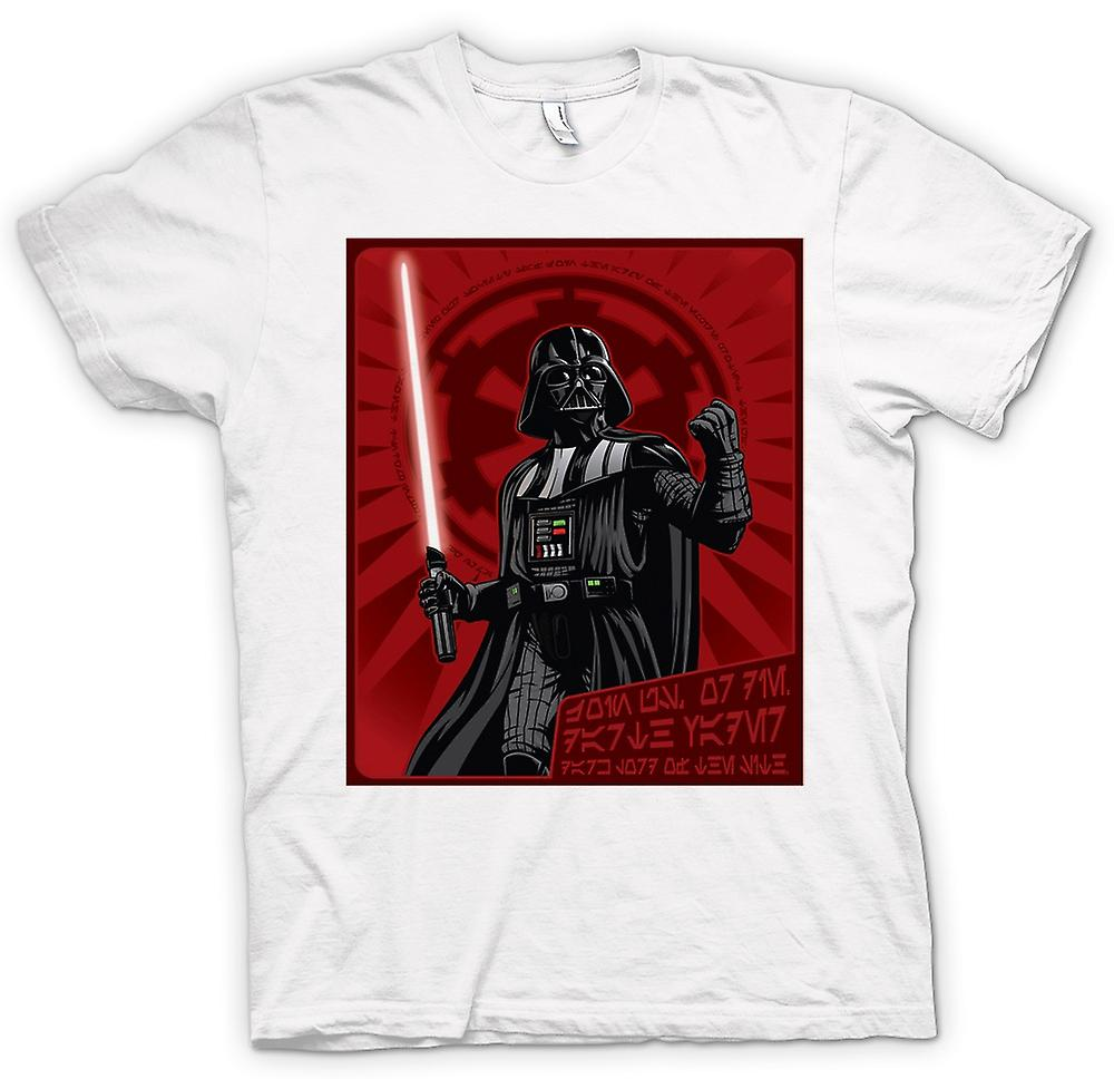 Herr T-shirt - Darth Vader - Star Wars - japanska