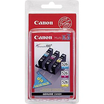 Canon Ink CLI-526 CMY Original Set Cyan, Magenta, Yellow 4541B009
