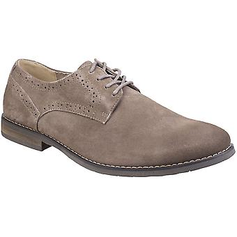 Hush valpar Mens Sean Casual Plain Toe Brogue Smart Oxford skor