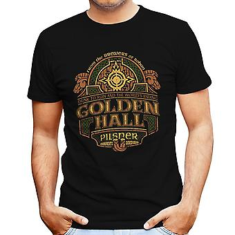 Lord Of The Rings Rohan Golden Hall Pilsner Men's T-Shirt