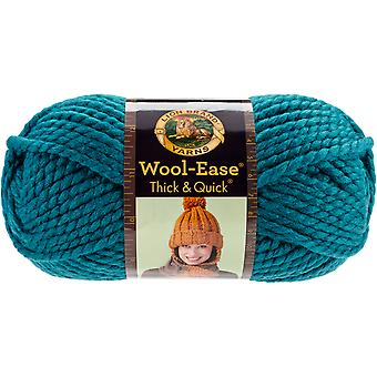 Wool-Ease Thick & Quick Yarn-Peacock