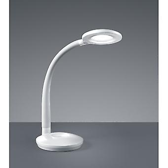 الثلاثي إضاءة مصباح طاولة بلاستيكية بيضاء الحديثة كوبرا