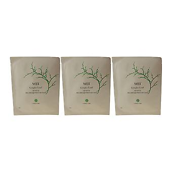 Wei Beauty Gingko Leaf Repairing Decolletage Treatment Pads (Pack Of 3)
