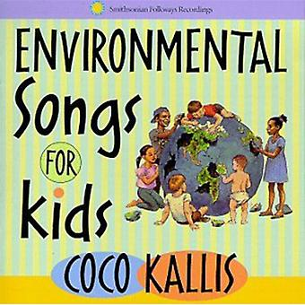 Coco Kallis - Environmental Songs for Kids [CD] USA import