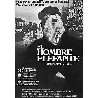 The Elephant Man Movie Poster (11 x 17)