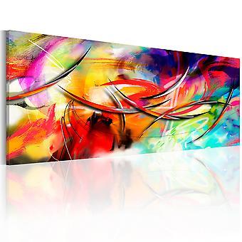 Canvas Print - Dance of the rainbow