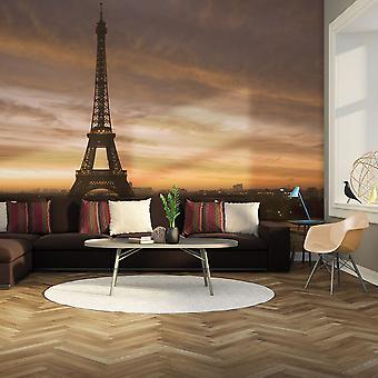 Wallpaper - torre de Eiffel al amanecer