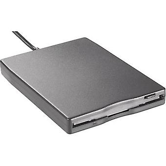 Basetech GEN-144 Floppy disk drive Refurbished USB 2.0