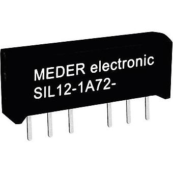 Reed relay 1 maker 5 Vdc 0.5 A 10 W SIL 4 StandexMeder Electronics SIL05-1A72-71D