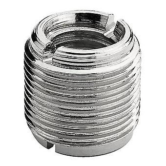 Thread adapter IMG STAGELINE MAC-10 Internal thread: 3/8 External thread: 5/8