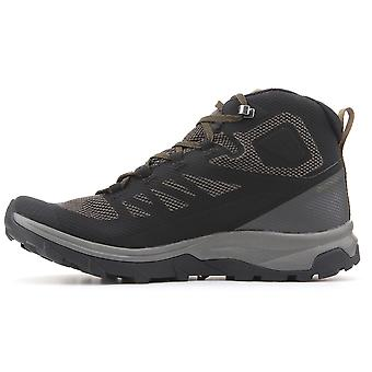 サロモン概要ミッド Gtx 404763 男性靴