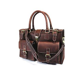 Premium Leather Debonair Office Breifcase Bag