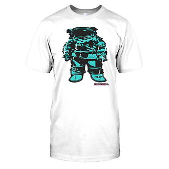 Blå NASA Astronaut Kids T skjorte
