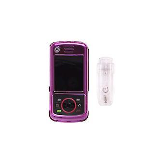 5 pack - Snap-On Case pour Motorola_iDEN Nextel Debut i856 - rose