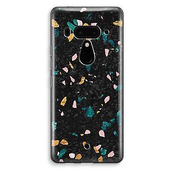 HTC U12 + caso transparente (Soft) - Terrazzo N ° 10