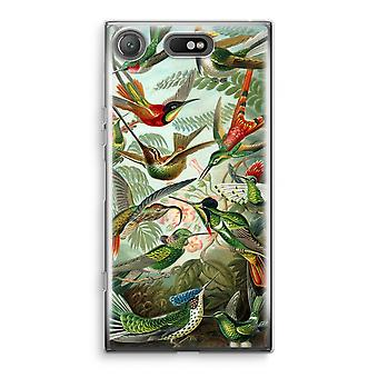 Sony Xperia XZ1 compacto caso Transparant (suave) - Haeckel Trochilidae