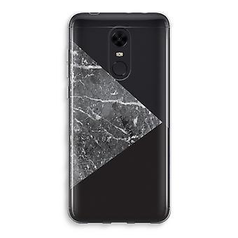 Xiaomi Redmi 5 Transparent Case (Soft) - Marble combination