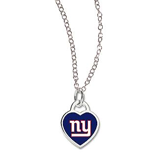 Wincraft ladies Heart Necklace - NFL New York Giants