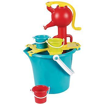 Seau avec pompe à eau
