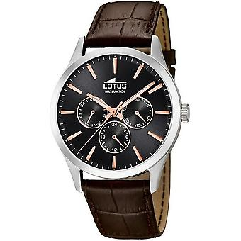 LOTUS - men's wristwatch - 18576/7 - minimalist - multi function