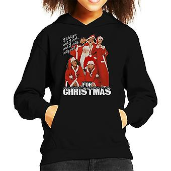 Spice Girls Ill Tell You What I Want For Christmas Kid's Hooded Sweatshirt