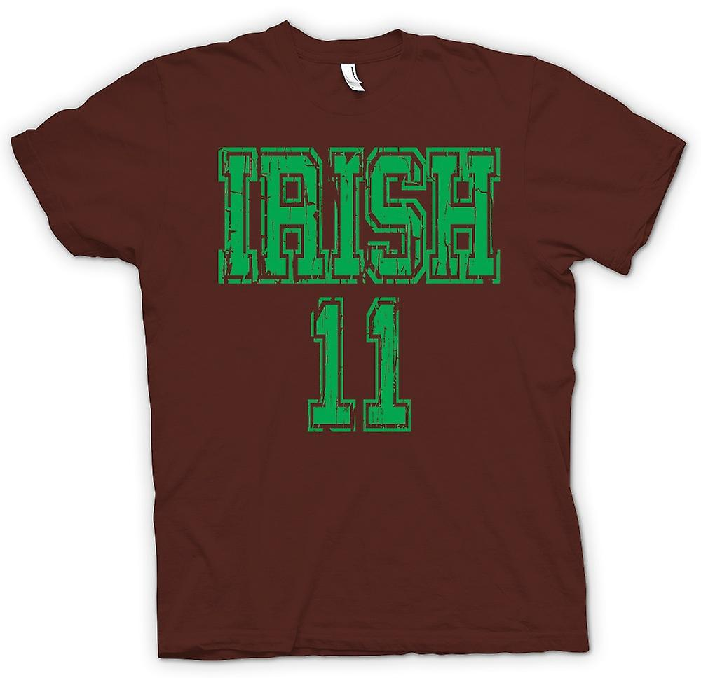 Mens T-shirt - St Patricks Day Irish 11 - Funny