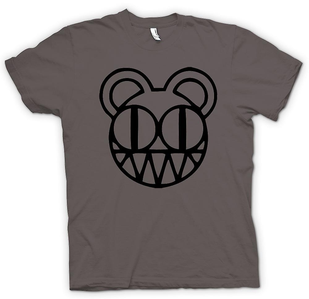 Mens T-shirt - Radiohead - Radio Op Hoofd