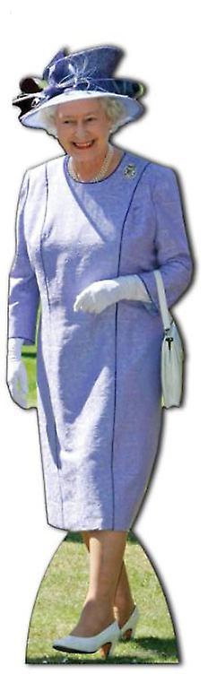 Queen Elizabeth II - Lifesize Cardboard Cutout / Standee (Diamond Jubilee 2012)