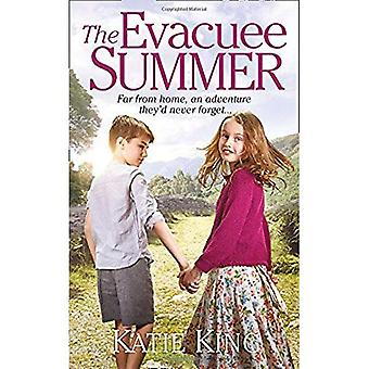 Evakuerad person sommaren