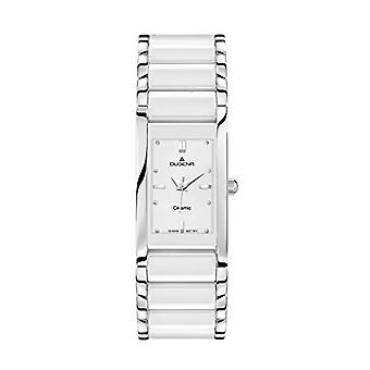 Dugena 4460506-wristwatch, ceramics, color: white