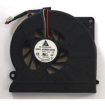 ASUS K72DR compatibele Laptop ventilator