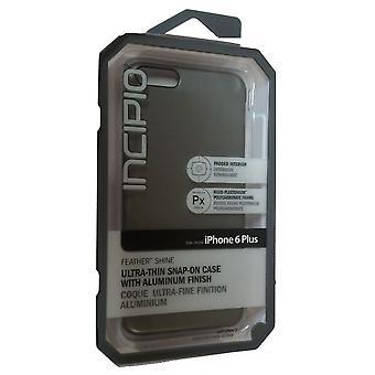 Incipio Feather Shine Case Cover Apple iPhone 6 - Plus (Gunmetal) - IPH-1194-GMT