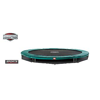 BERG InGround Talent 300 10ft Trampoline Sports Series Green