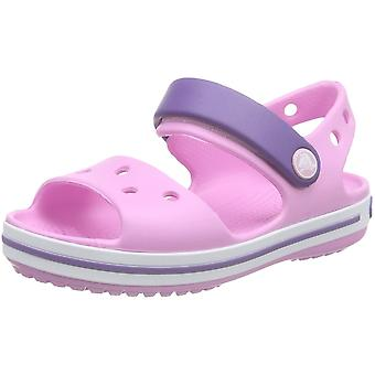 Crocs Girls/Boys Crocband Moulded Croslite Ankle Strap Fastening Sandal