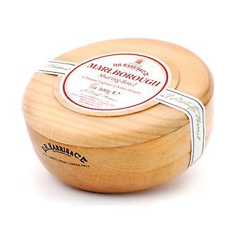 D R Harris Wooden Shaving Bowl + Soap 100g-Marlborough-Beech