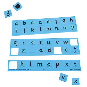 ZooBooKoo Educational Number and Letter Pack (Red/Blue) Learn Count Math