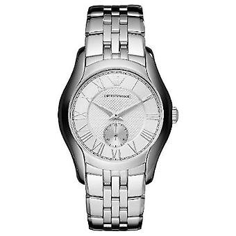 Emporio Armani Ar1711 Classic Mid Size Mens Silver Watch