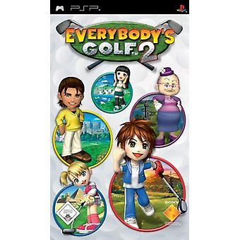 Everybody's Golf 2 PSP Game