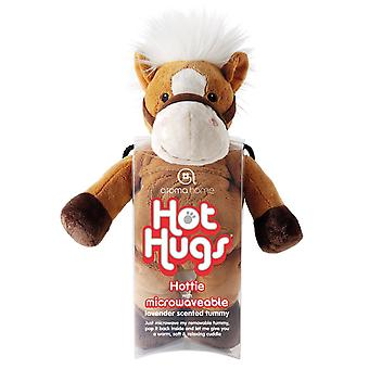 Aroma Home Hot Hugs Hottie chauffable jouet : cheval