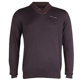 Firetrap V-Neck Jumper With Button Detailing