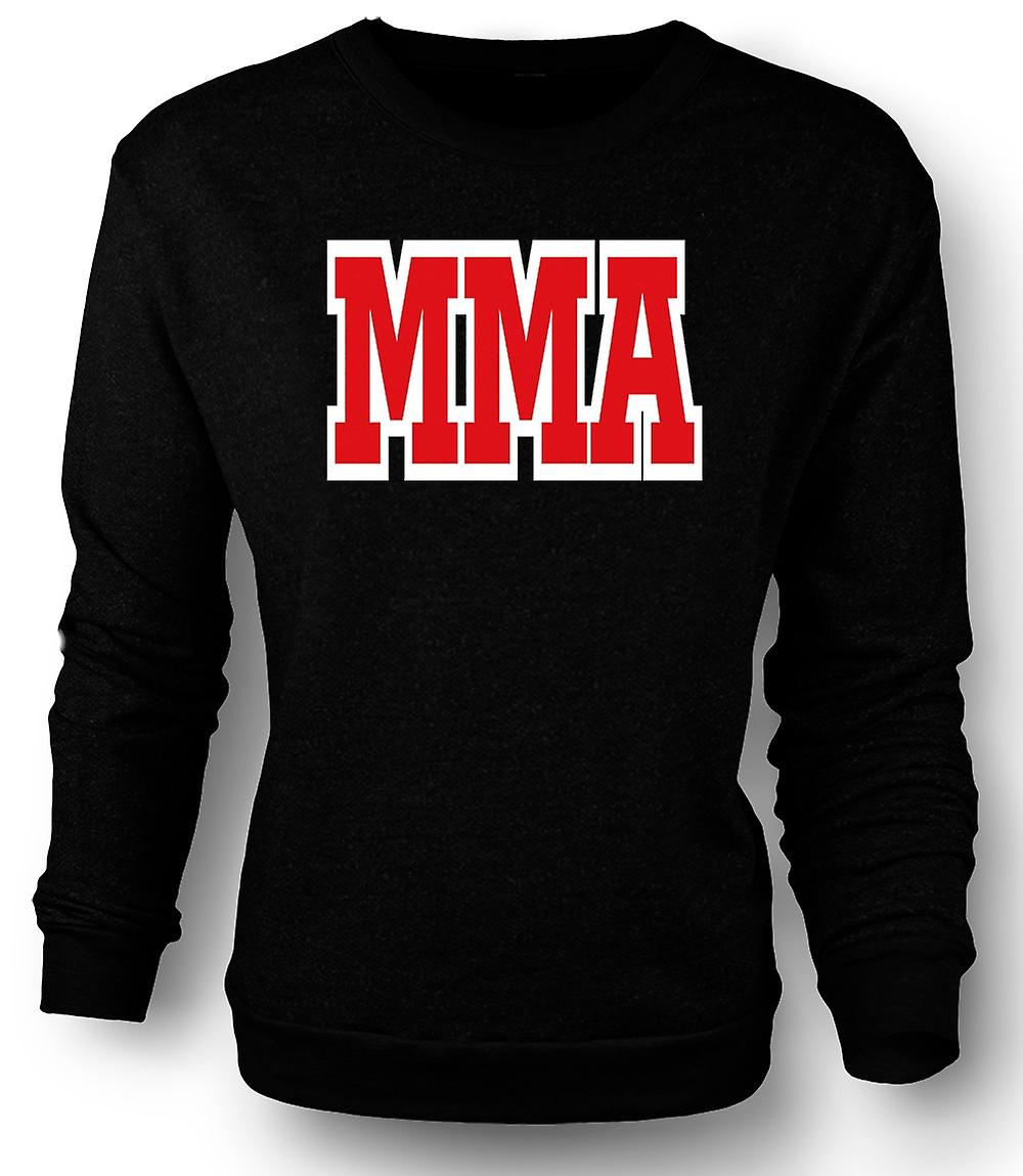 Mens Sweatshirt MMA - Martial Art - Slogan