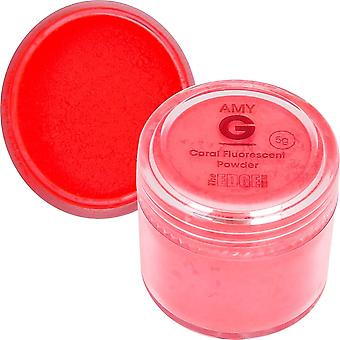 The Edge Nails Amy G - Fluorescent Nail Powders - 5g Coral (3003003)