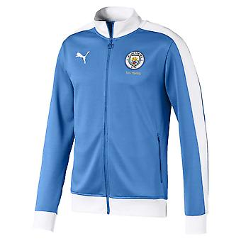 Veste de piste Puma T7 de Manchester City Puma 2019-2020 (bleu)